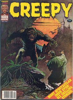 Creepy #4 - Frank Frazetta's cover