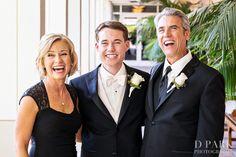 groom & parents shot