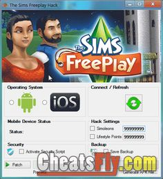 The Sims Freeplay Hack for Iphone and Android
