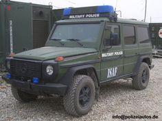 Wolf SSA (Sonderschutz-Ausstattung, 3. Version), geschützes Fahrzeug der Feldjäger.