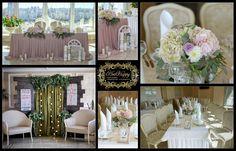 Украшение зала на свадьбу, оформление свадьбы в Минске.