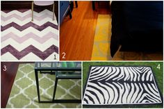 my next project..paint a pattern on my huge plain bedroom rug..cant wait to get started