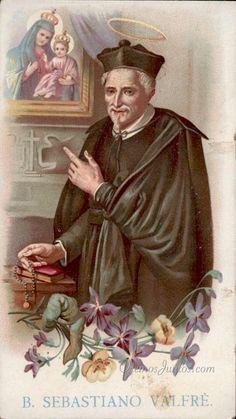Beato Sebastian de Valfre, (estampa antigua)