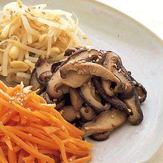 しいたけのナムル | 李映林さんのおつまみの料理レシピ | プロの簡単料理レシピはレタスクラブニュース