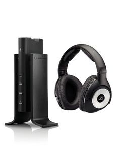 31560f545d0e Sennheiser RS 170 Digital Wireless Headphone with Dynamic Bass and Surround  Sound  Electronics