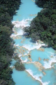 Cascadas de Agua Azul, Chiapas, Mexico