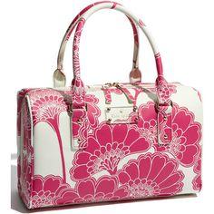 kate spade new york 'japanese floral - melinda' satchel (Nordstrom... ($139) ❤ liked on Polyvore
