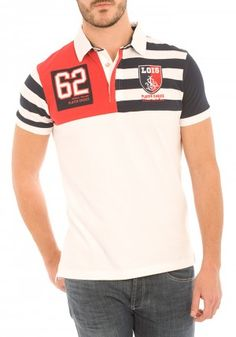 Polos de Lois Different para Hombre en Pausant.com Polo Rugby Shirt, Polo T Shirts, Camisa Polo, Lois Jeans, Mens Trends, Boys Wear, Japanese Outfits, Girl Outfits, Menswear