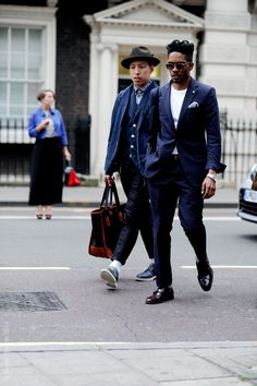 Men's fashion will be pushing towards suits!