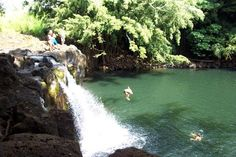 Kipu Falls South Shore