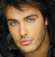 Kostas Martakis. I love blue eyes! - those eyes have to be enhanced, they are gorgeous