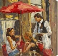 Outdoor Caf� by Karen Wilkerson