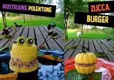 ZUCCA BURGER & MOSTRONE POLENTONE Polenta halloween recipes for dogs