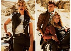 Kate Moss in Matchless - See All Of The Brand New SS15 Fashion Campaigns on Redonline