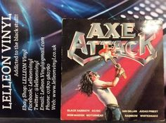 Axe Attack Compilation Rock LP Album Vinyl Record NE1100 AC/DC Sabbath UFO Music:Records:Albums/ LPs:Rock:Progressive