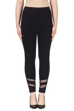 Buy Joseph Ribkoff | Sheer Contrast Legging 171173 Online – Wardrobe Fashion