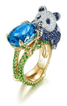 Adorable full of Chow Tai Fook Meng • animal series jewelry