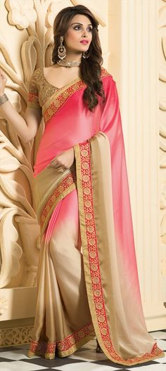 beautiful cocktail #saree. #Partywear #Women #IndianWedding
