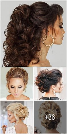36 Trendy Swept-Back Wedding Hairstyles If you are not sure which hairstyle to choose, tale a look at our collection of swept-back wedding hairstyles and you will find gorgeous and fancy bridal looks! Bridal Hair Down, Half Up Wedding Hair, Long Hair Wedding Styles, Bridal Hair Updo, Wedding Hairstyles For Long Hair, Bridal Hair And Makeup, Bride Hairstyles, Trendy Wedding, Medium Hair Styles