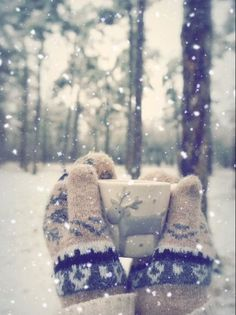 Get out those warm woollies! The cold winter weather is certainly making it's presence known. How long till we see snow?
