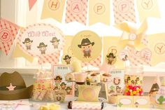 Instant Download Cowgirl Birthday Printable Party Kit