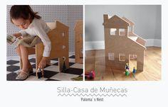 Sillas para niños: Los diseños más sorprendentes en mobiliario infantil. http://palomasnest.com/products/childrens-neighborhood-chair-the-split-level