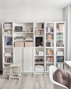 Get inspired with our IKEA BILLY BOOKCASE IDEAS.Quality images and designs. Billy Bookcase Office, Billy Bookcase With Doors, Kitchen Bookcase, Ikea Billy Bookcase Hack, Billy Bookcases, Ikea Hemnes Bookcase, Tv Bookcase, Ikea Billy Hack, Hack Ikea