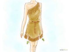 4 Ways to Make a Pocahontas Costume - wikiHow