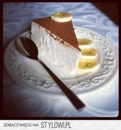 sernik bananowy, idealnie kremowy, naturalnie zdrowy i…