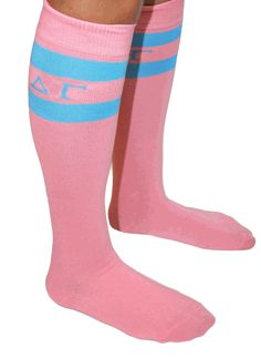 Delta Gamma Knee Socks SALE $9.95. - Greek Gear®