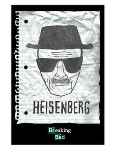 Poster Breaking Bad heinsenberg wanted pp33257