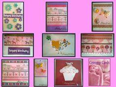 Handmade by Donna @ Crimmy Cards GIRL BIRTHDAY CARDS