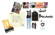 """""""just because"""" by music-lover-885095 on Polyvore featuring 7 For All Mankind, Converse, JanSport and Zero Gravity"""