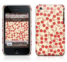 Cherry Pie by Julie Comstock for the iPhone 3GS, 3G HardCase