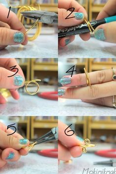DIY: Knuckle Rings or maybe a toe ring :)