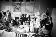 Cowley Manor behind the scenes - Cheltenham Fashion Week Daily Fashion, Fashion News, Behind The Scenes