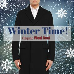 Business Woolen Coat - $164.99 #elegant #winter #runit365