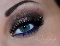 Chocolate & Blueberries http://www.makeupbee.com/look.php?look_id=66620