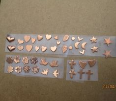 Holiday Jewelry, Halloween Jewelry, Art Nouveau, Mini Copper, Rings N Things, Tiny Star, Flower Stamp, Cross Jewelry, Tiny Flowers