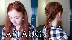 2 easy styles from Princess Aslaug in Vikings Season 2