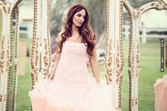 love this bride's hair & make up! | CHECK OUT MORE IDEAS AT WEDDINGPINS.NET | #weddings #weddinghair #hairstyles #fashionhair #newhair #forweddings