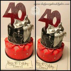 40 birthday cake
