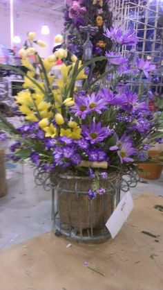 Spring floral. Robin Evans