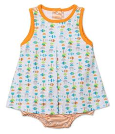 Zutano Baby-girls Infant Fishies A-Line Jumper - List price: $29.50 Price: $22.13