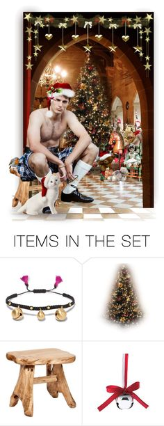 """Men in Kilts _ Jingle All the Way !"" by auntiehelen ❤ liked on Polyvore featuring art"