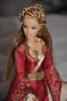 Canción de Hielo y Fuego - Juego de Tronos - Cersei - Game of Thrones - Barbie