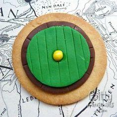 Hobbit Bag End Cookies  #Hobbit #Middle-earth