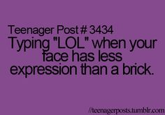 Teenager Post #