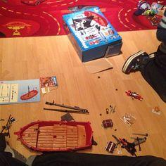 #geburtstag #geschenk #playmobil #atwork #jetztistpapadran #aufbauen