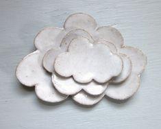 little nesting cloud plates. Nice for breakfast- Etsy
